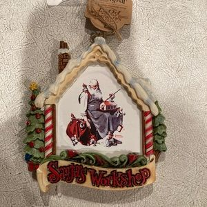 Jim shore Christmas ornament NEW